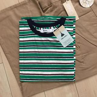 ニコアンド(niko and...)の新品 niko and…ネップレトロボーダーゆるT(Tシャツ(半袖/袖なし))