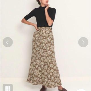 アナップ(ANAP)の花柄スカート(ロングスカート)
