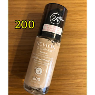REVLON - レブロン カラーステイメイクアップ 200  30ml