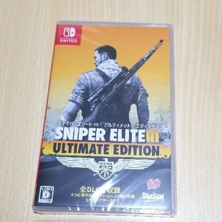 Nintendo Switch - sniper elite スナイパーエリート Nintendo Switch