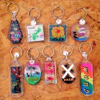 グアムのお土産キーホルダー レディースのファッション小物(キーホルダー)の商品写真