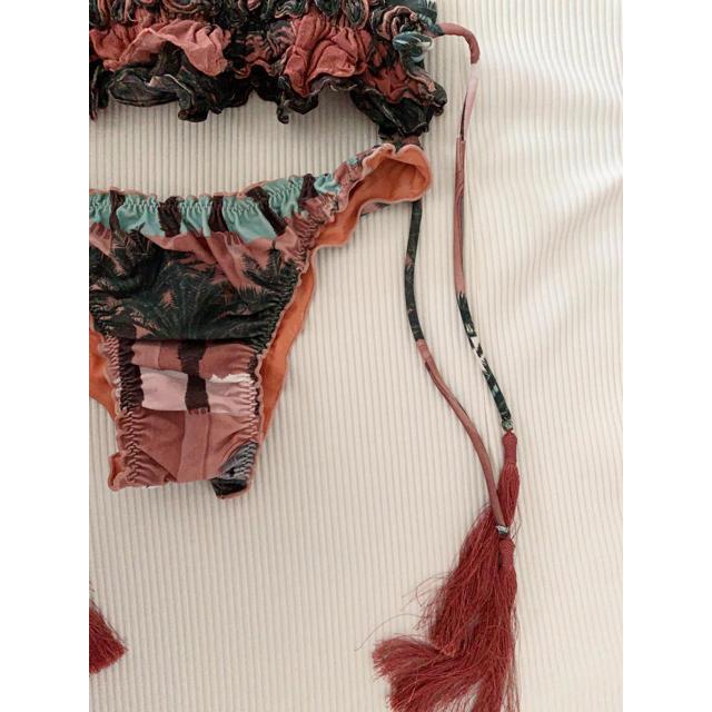 agua de coco ブラジリアン 水着 ビキニ ブラジル タッセル レディースの水着/浴衣(水着)の商品写真