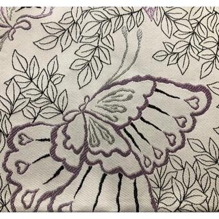 ふりふ - 【未使用品】ふりふ 帯 絹製 蝶々柄