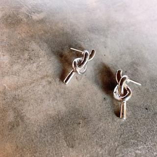 L'Appartement DEUXIEME CLASSE - #466 import : knot vertical silver