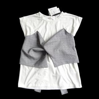 RETRO GIRL - 新品 レトロガール RETRO GIRL ビスチェ付き Tシャツ カットソー