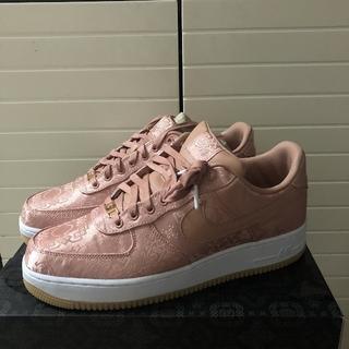 NIKE - clot Nike Air Force1rose pink US11