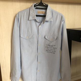 AVIREX - アヴィレックス シャツ ブルー XLサイズ