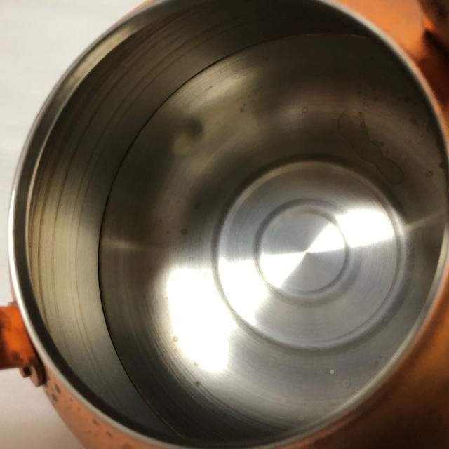 東屋 薬缶 やかん 銅 インテリア/住まい/日用品のキッチン/食器(調理道具/製菓道具)の商品写真