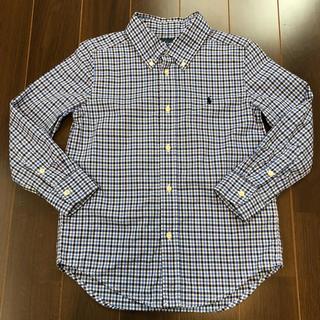 Ralph Lauren - ラルフローレン チェック シャツ 120cm 6T 美品