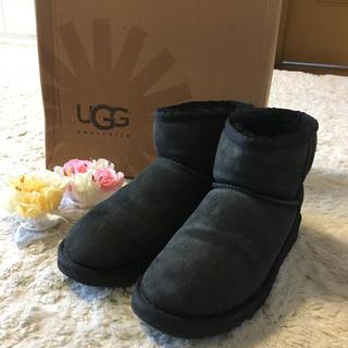 UGG - ふんわり暖かい♪アグムートンブーツ 25.0cm