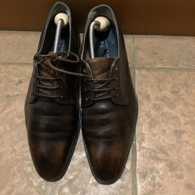 alfredoBANNISTER(アルフレッドバニスター)のアルフレッドバニスター 革靴 プレーントュ ビジネスシューズ メンズの靴/シューズ(ドレス/ビジネス)の商品写真