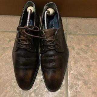アルフレッドバニスター(alfredoBANNISTER)のアルフレッドバニスター 革靴 プレーントュ ビジネスシューズ(ドレス/ビジネス)