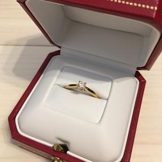 カルティエ(Cartier)のカルティエ ソリテールリング ゴールド(リング(指輪))