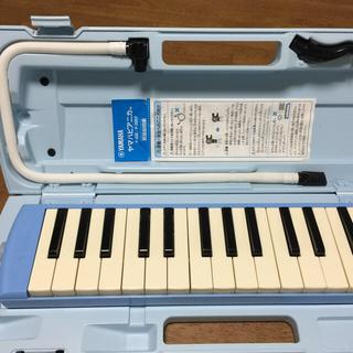 ヤマハ(ヤマハ)のYAMAHA   ピアニカ  鍵盤ハーモニカ P-32E  ブルー(その他)