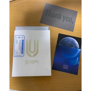 ユニゾンスクエアガーデン(UNISON SQUARE GARDEN)のUNISONSQUAREGARDENプログラム15th Blu-Ray初回限定盤(ミュージック)