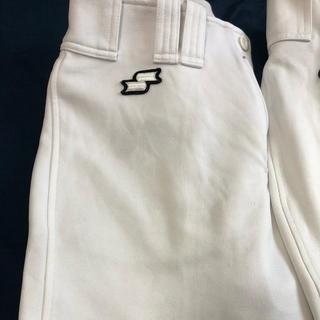 asics - 野球練習着 白ズボン