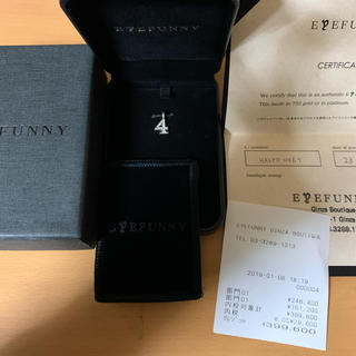 アイファニー(EYEFUNNY)のアイファニー ネックレス No. 4 ホワイトゴールド.フルダイヤ(ネックレス)