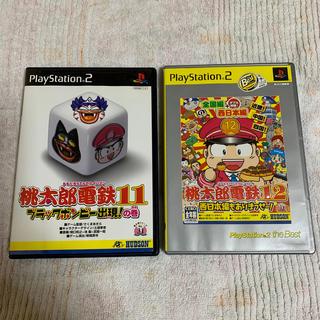 プレイステーション2(PlayStation2)の桃太郎電鉄 11 & 12 セット(家庭用ゲームソフト)