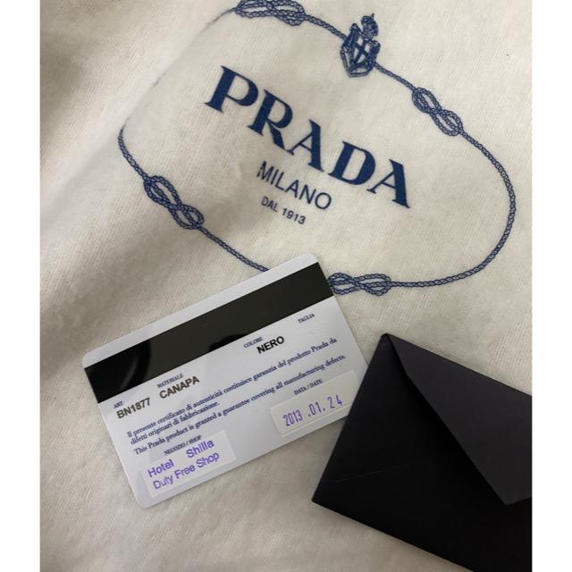 PRADA(プラダ)のPRADA  カナパ M ブラック レディースのバッグ(トートバッグ)の商品写真