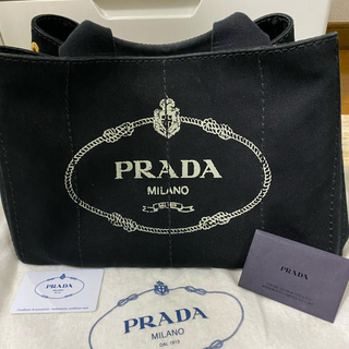 プラダ(PRADA)のPRADA  カナパ M ブラック(トートバッグ)