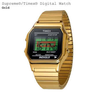 2019aw Supreme®/Timex® Digital Watch