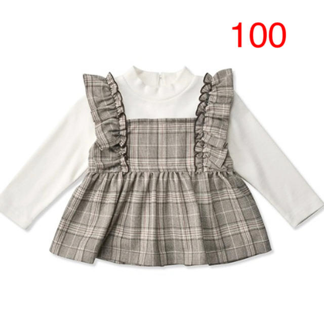 petit main(プティマイン)のプティマイン 100cm キッズ/ベビー/マタニティのキッズ服女の子用(90cm~)(Tシャツ/カットソー)の商品写真