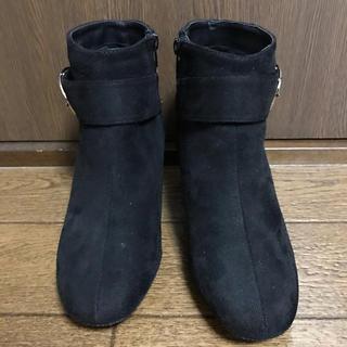 HONEYS - 【状態良好】ショートベルト メタル太ヒール 23.5cm