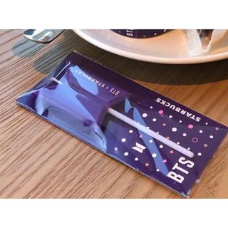 スターバックスコーヒー(Starbucks Coffee)の韓国限定スターバックス×BTS キャンドル(アイドルグッズ)