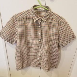 ウィゴー(WEGO)のUSEDチェックシャツ(シャツ/ブラウス(長袖/七分))