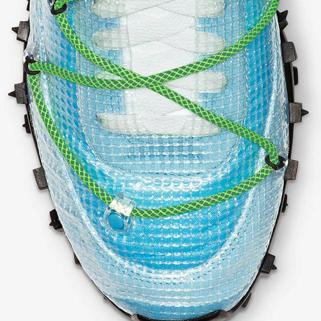 OFF-WHITE(オフホワイト)のナイキ ホフホワイト コラボワッフルレーサー 新品未使用 23cm レディースの靴/シューズ(スニーカー)の商品写真