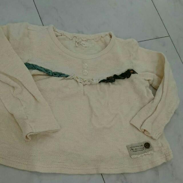 Biquette(ビケット)の95センチ キムラタン セットアップ☆ キッズ/ベビー/マタニティのキッズ服女の子用(90cm~)(Tシャツ/カットソー)の商品写真