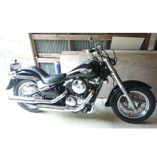 カワサキ - バルカン400クラシック カワサキアメリカンバイク実働書類付