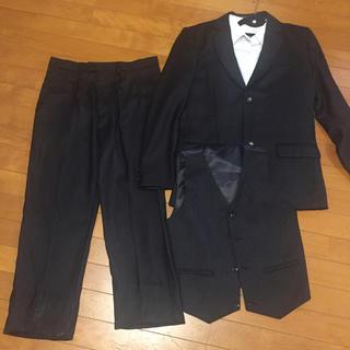 卒業式 男の子 スーツ 4点セット used  160㎝ 男児、ボーイズ