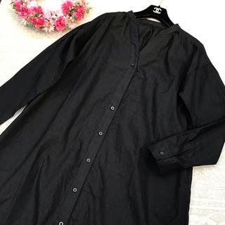 KBF - KBF ケービーエフ♡シャツ ワンピース♡ブラック