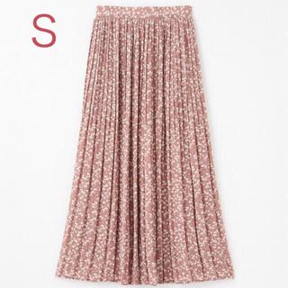 しまむら - 小花柄プリーツスカート ピンクS