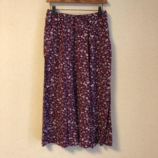 スタディオクリップ(STUDIO CLIP)の花柄スカート(ロングスカート)