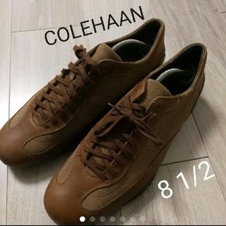 Cole Haan - コールハーン COLE HAAN レザースニーカー ベージュ スウェード