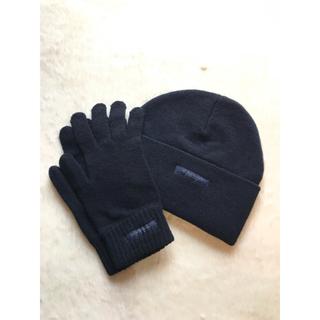 BURBERRY - 新品☆バーバリーニットキャップ&手袋