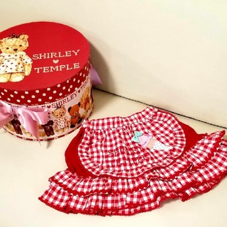 Shirley Temple - シャーリーテンプル☆ギンガムアイススカート80