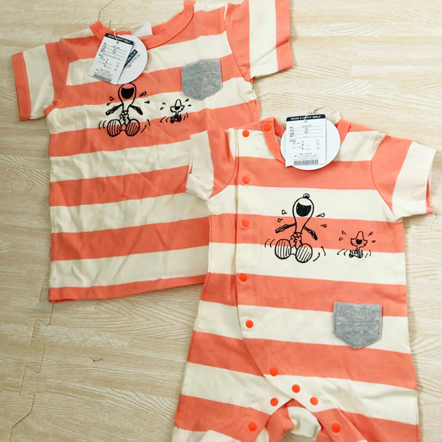 BREEZE(ブリーズ)のブリーズ キッズ/ベビー/マタニティのベビー服(~85cm)(ロンパース)の商品写真