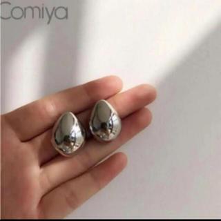 Ameri VINTAGE - 大人気なため再入荷!tear drop ring silver925 ピアス