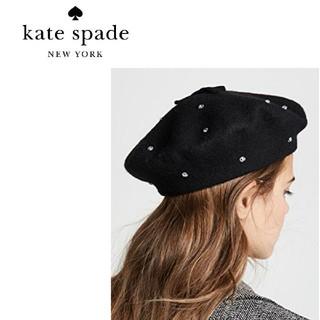 kate spade new york - 新品♠ケイトスペード Kate Spade♠ ベレー帽