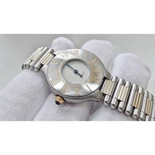 Cartier - Cartier カルティエ 女性用 クオーツ腕時計 電池新品 B2417