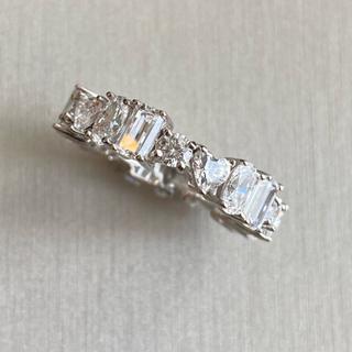 FOXEY - 最高級 人工ダイヤモンド sona    マルチシェイプフルエタニティ リング