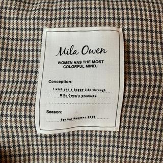 Mila Owen - 2019ss milaowen リネンジャケット