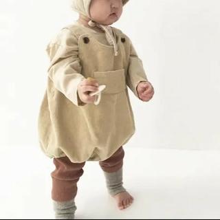 petit main - ♡新品♡ユーデュロイ♡かぼちゃパンツ♡サロペット♡韓国子供服♡パンツ♡