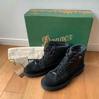 ダナー(Danner)のDanner ダナーライト wms7H ブラック 美品!(ブーツ)