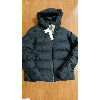 UNIQLO - ユニクロ シームレスダウンパーカ ブラック XL ダウンジャケット¥14900