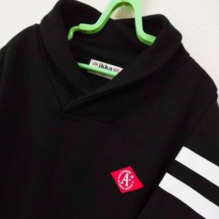 イッカ(ikka)のikka☆ワンポイントショールカラートレーナー☆130size(美品)(Tシャツ/カットソー)
