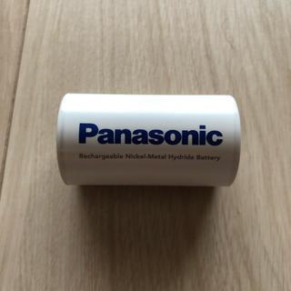 パナソニック(Panasonic)のエネループ単1✖️1個+スペーサー1個(バッテリー/充電器)